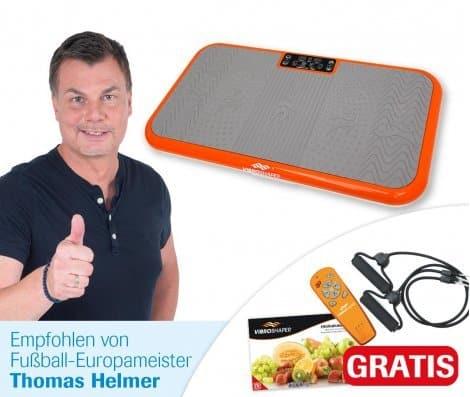 Vibro Shaper Bewertung von Fußball-Europameister Thomas Helmer