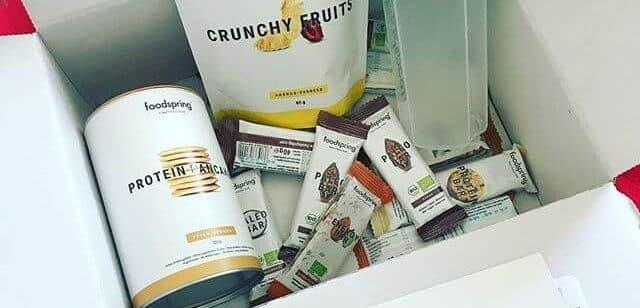 Unser Probierpaket mit den Food Spring Produkten