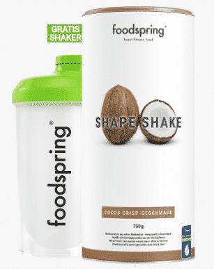 Shape Shake Foodspring Schokolade