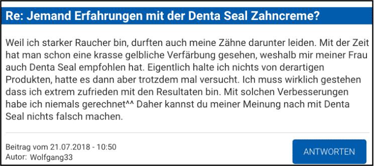 Denta Seal Erfahrungen Forum
