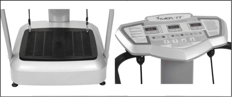 Allgemeines Designe der Movit-Vitality Vibrationsplatte