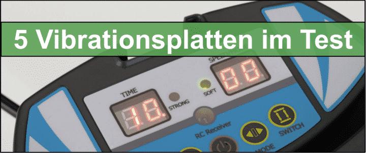 Die 5 besten Vibrationsplatten im Test