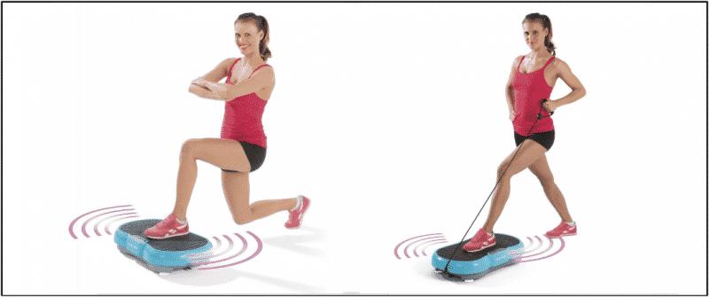 Übungen mit der Vitalmaxx Platte