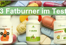 Fatburner Test Erfahrungen kaufen Fettverbrenner