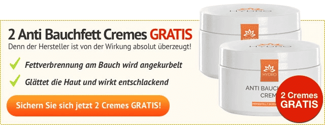 Anti bauchfett creme hydro