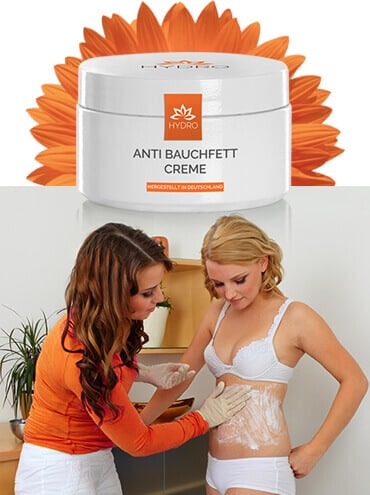 Bauchfett loswerden mit anti bauchfett creme