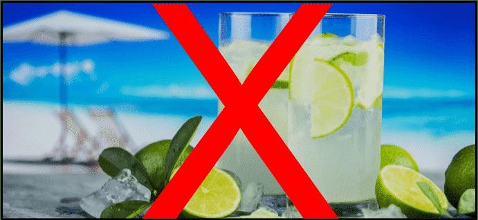 Bauchgett loswerden Zucker Alkohol
