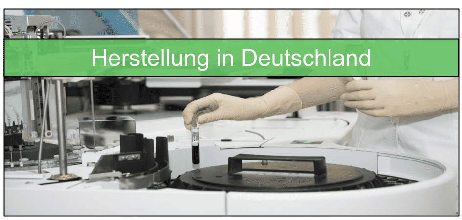 Appetitzügler Herstellung in Deutschland