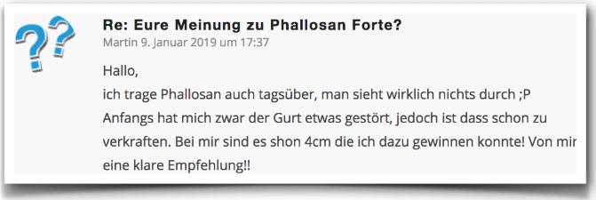 Phallosan Forte Erfahrungsbericht