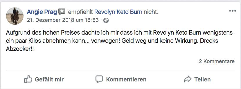 Revolyn Keto Burn Erfahrungsbericht