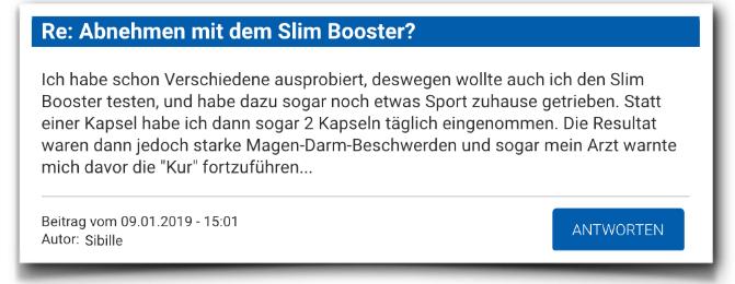 Slim Booster Testbericht