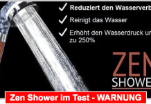 Zen Shower Titelbild