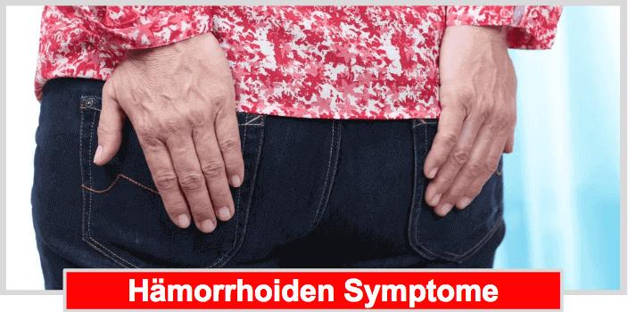 Hämorrhoiden nach Geburt Symptome