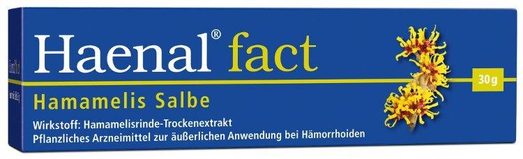 Haenal Fact Hämorrhoiden Salbe mit Hamamelis