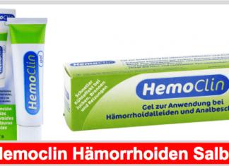 Hemoclin Hämorrhoiden Salbe Titelbild