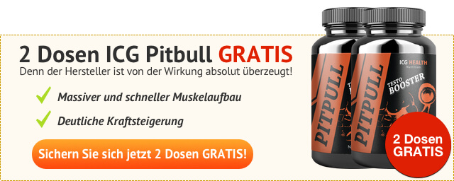 ICG Pitbull Banner Testosteron Booster