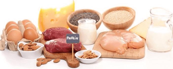 Testosterin steigern durch Proteine