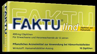 Fakut Lind Zäpfchen
