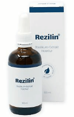 Rezilin Bestellung Produktverpackung