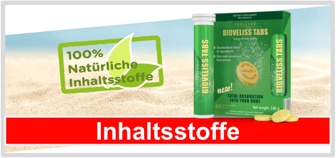 Bioveliss Tabs Inhaltsstoffe