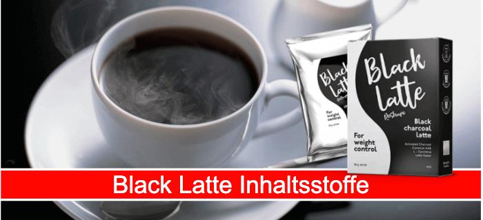 Black Latte Inhaltsstoffe