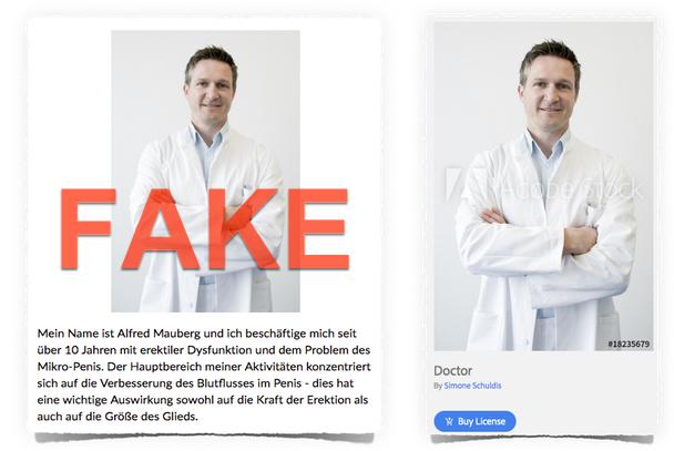 Eroxel Fake Arzt