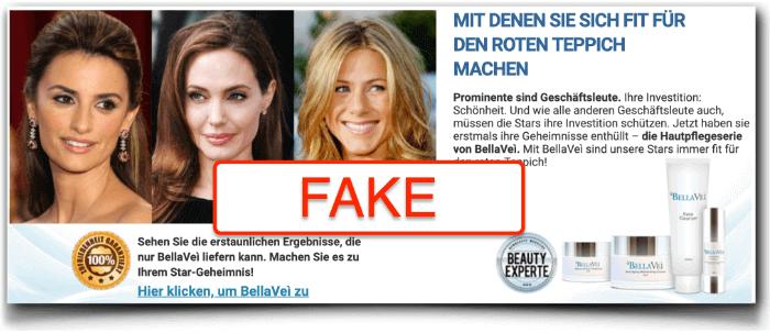 BellaVei Fake Werbung