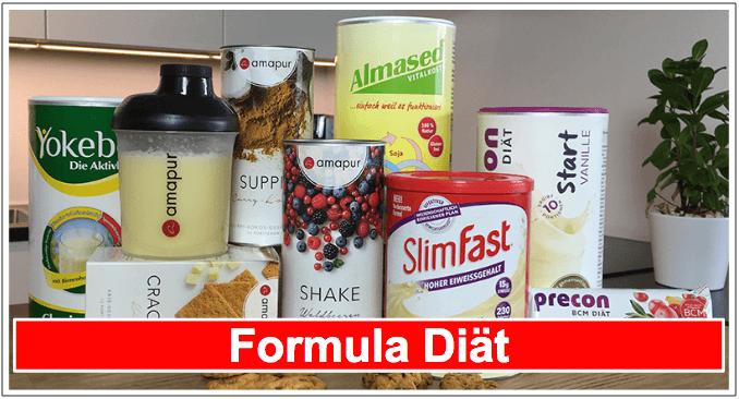 Abnehmen mit Formula Diät