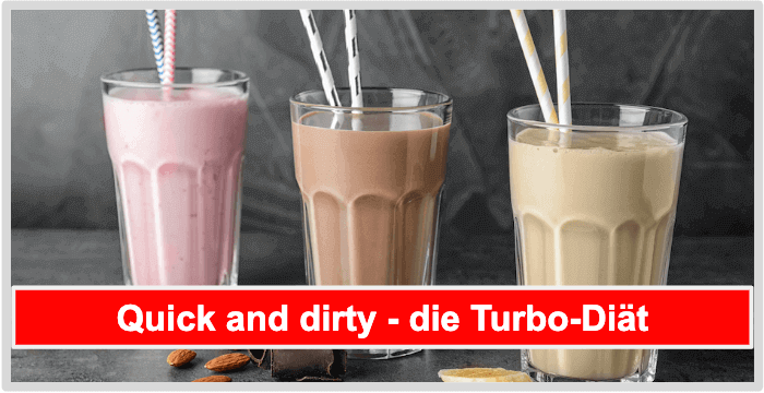 Almased quick and dirty turbo diät