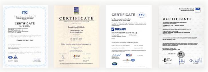 Detoxic Zertifikate