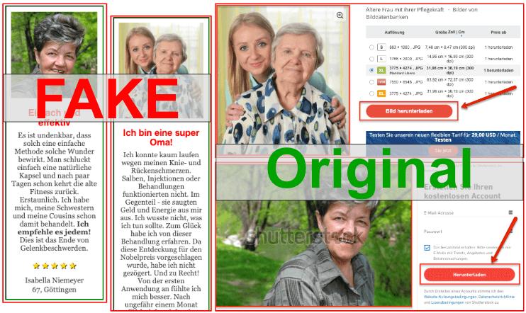 Fake Erfahrungsberichte Flexa Plus Optima