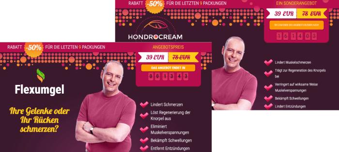 Hondrocream Fake Flexumgel