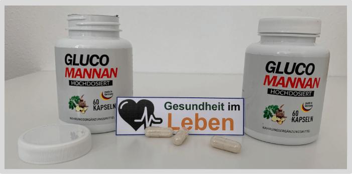 ICG Glucomannan Kapseln Test