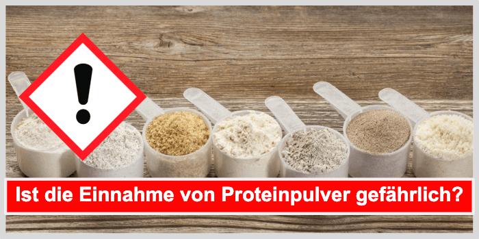 Ist die Einnahme von Protein Pulver gefährlich