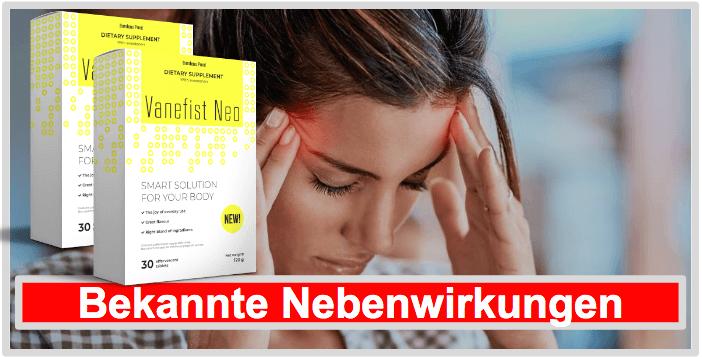Nebenwirkungen und Unverträglichkeiten Vanefist Neo