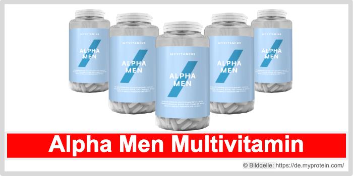 Alpha Men Multivitamin Myprotein