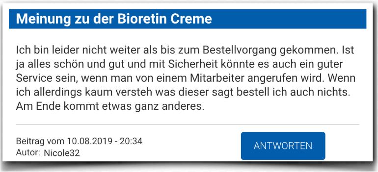 Bioretin Erfahrungsbericht Bewertung Kritik Bioretin