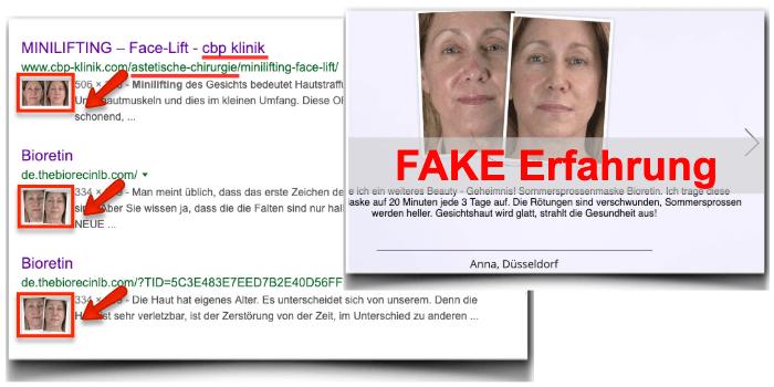 Bioretin Fake Erfahrungsbericht