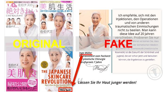 Bioretin Fake Expertenmeinung