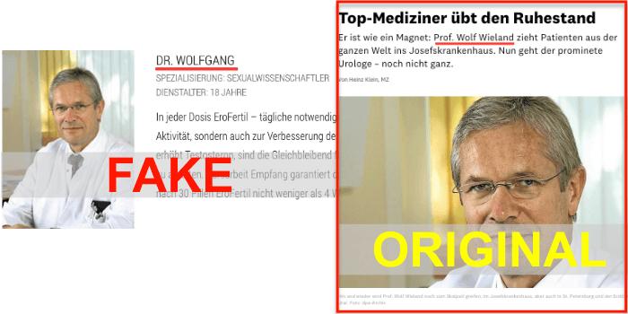 Erofertil Fake Arzt
