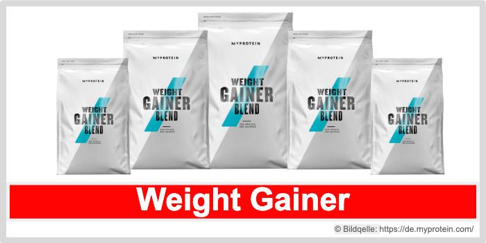 Impact Weight Gainer Myprotein