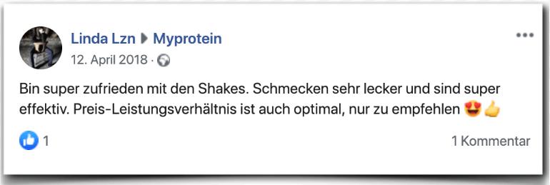 Myprotein Bewertung