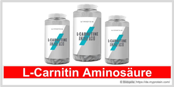 Myprotein L-Carnitin Aminosäure