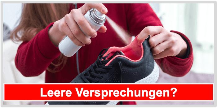 Schuhspray Wirkung