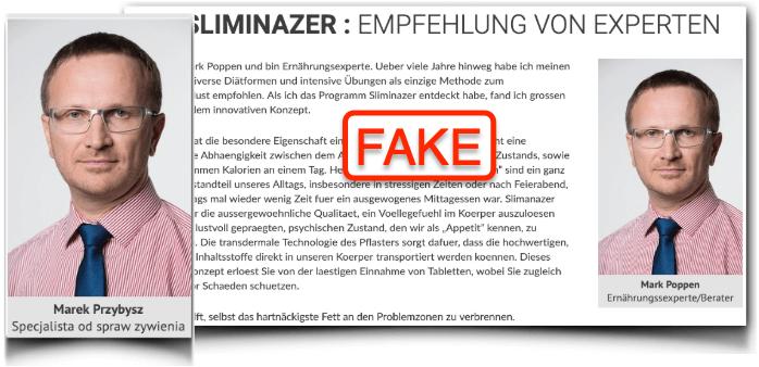 Sliminazer Fake Experte