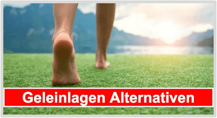 Geleinlagen Alternativen Barfuß Fußgymnastik