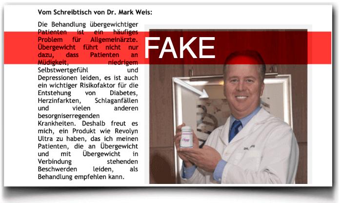 Revolyn Ultra Arztbericht fake