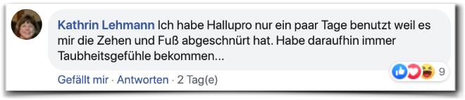 Hallupro Erfahrungsberichte Bewertungen Facebook