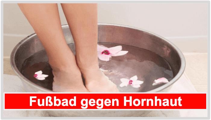 Hornhaut Socken Alternative Fußbad gegen Hornhaut