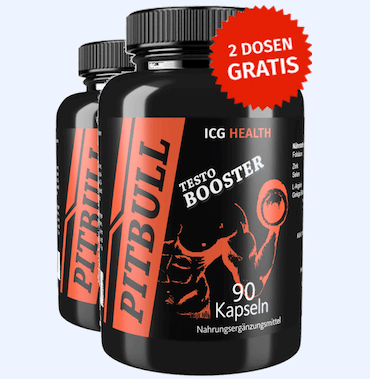 ICG Pittbull Testosteron Booster Test